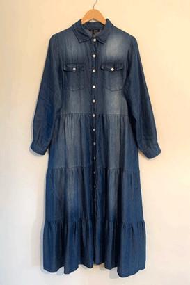 Belle Modelle Belle-Modelle - Denim Maxi Dress