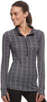 Jockey Women's Butter Knit 1/2-Zip Long Sleeve Top