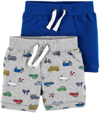 Carter's Baby Boy 2-Pack Pull-On Shorts