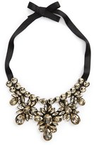 Topshop Crystal Statement Necklace