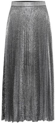 Christopher Kane Metallic midi skirt