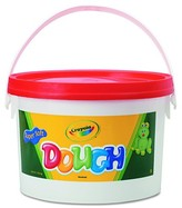 Crayola Modeling Dough Bucket, 3 lbs - Red