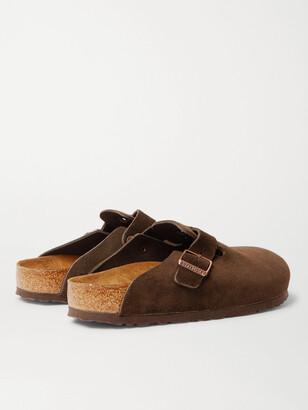 Birkenstock Boston Suede Sandals