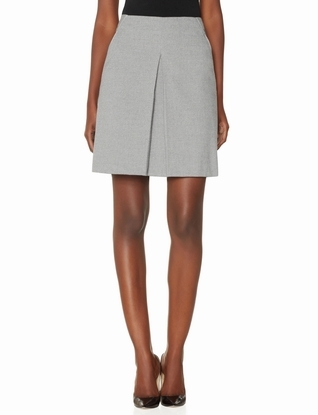 The Limited Box Pleat Skirt