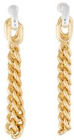 Giles & Brother Stirrup Chain Drop Earrings