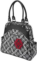 Petunia Pickle Bottom Infant 'Glazed Sashay' Convertible Diaper Bag/satchel - Black