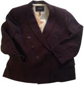 Isabel Marant Burgundy Linen Jacket