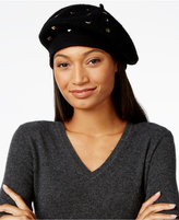 INC International Concepts Mixed Metallic Beret, Only at Macy's