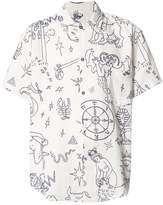 The Elder Statesman Tati Compton printed shirt