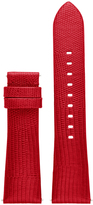 MKT9006 Bradshaw Red Embossed Lizard Strap