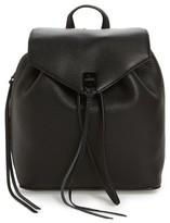 Rebecca Minkoff Medium Darren Leather Backpack - Black