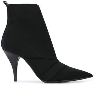 Casadei Delfina pull-on ankle boots