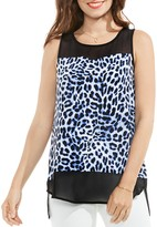 Vince Camuto Leopard Print Top