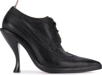 Thom Browne Curved Heel Pebbled Brogues