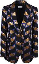 Dries Van Noten Geometric Prints Blazer