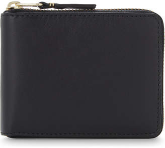 Comme des Garcons Leather zip-around wallet
