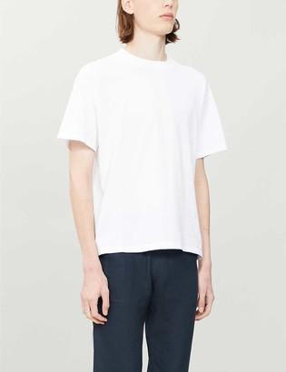 Sandro Sleek organic cotton-jersey T-shirt
