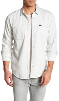 RVCA Bridge Long Sleeve Slim Fit Shirt