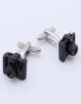 Cufflink 187 - Black Camera