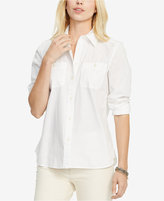 Lauren Ralph Lauren Cotton Long Sleeve Shirt