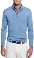 Peter Millar Merino Wool Quarter-Zip Sweater