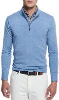 Peter Millar Merino Wool Quarter-Zip Sweater