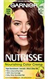 Garnier Nutrisse Nourishing Color Creme, 415 Soft Mahogany Dark Brown (Raspberry Truffle)(Packaging May Vary)