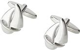 John Lewis Yacht Cufflinks, Silver