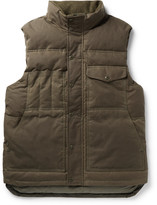 Filson Water-Resistant Cotton-Canvas Down Gilet