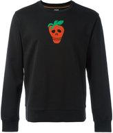 Paul Smith strawberry skull sweatshirt - men - Cotton - S