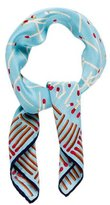Moschino Match Printed Silk Scarf