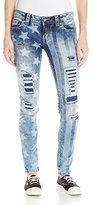 Miss Me Women's American Spirit Mid-Rise Skinny Jeans