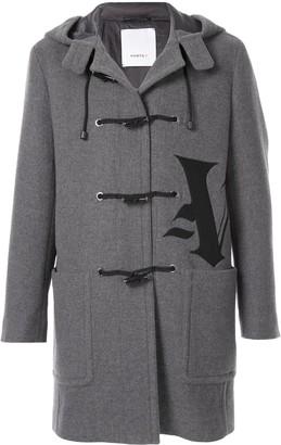 Ports V Gothic V calligraphy duffle coat