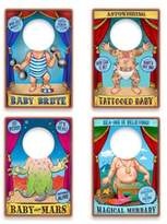 Fred & Friends Traveling Sideshow 20-Pack Reusable Bib Set