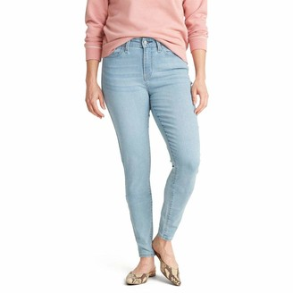 Signature by Levi Strauss & Co. Gold Label Signature by Levi Strauss & Co Women's Mid Rise Super Skinny Jeans