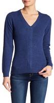 Sofia Cashmere Cashmere V-Neck Sweater