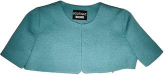 Moschino Turquoise Wool Jackets