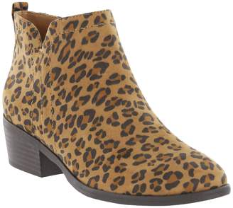 Mia Jaymi Genuine Calf Hair Ankle Bootie