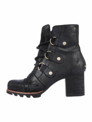 Sorel Lace-Up Boots Black