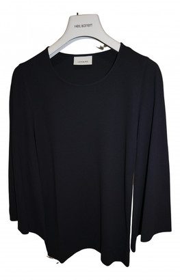 Lemaire Navy Cotton Tops