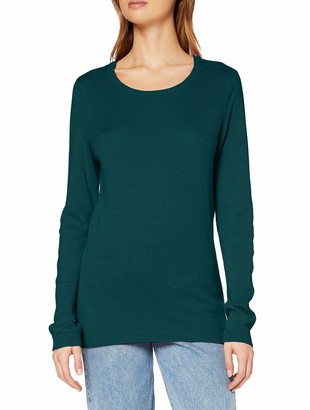 Vero Moda Women's Vmminniecare Ls O-neck Blouse Color Ga Long Sleeve Top