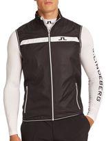 J. Lindeberg Sporty Weather-Resistant Vest