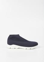 MM6 MAISON MARGIELA navy / white sock sneaker