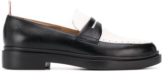 Thom Browne Panelled 35mm Penny Loafers