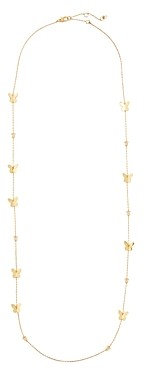 Kate Spade In a Flutter Butterfly Scatter Necklace, 36