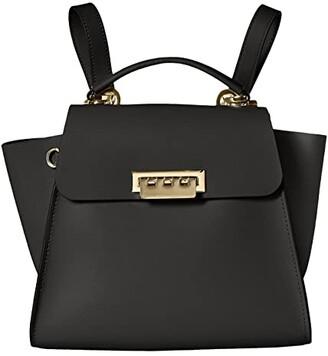 ZAC Zac Posen Eartha Convertible Backpack (Black) Backpack Bags