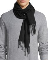 Eton Cashmere Fringed-End Scarf