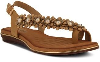Spring Step Patrizia by Adjustable Toe-Loop Sandals - Setrella