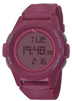 Puma Vertical Unisex Digital Watch with LCD Dial Digital Display and Pink PU Strap PU911161004