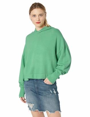 BB Dakota Womens All Hood Things Cropped Sweater